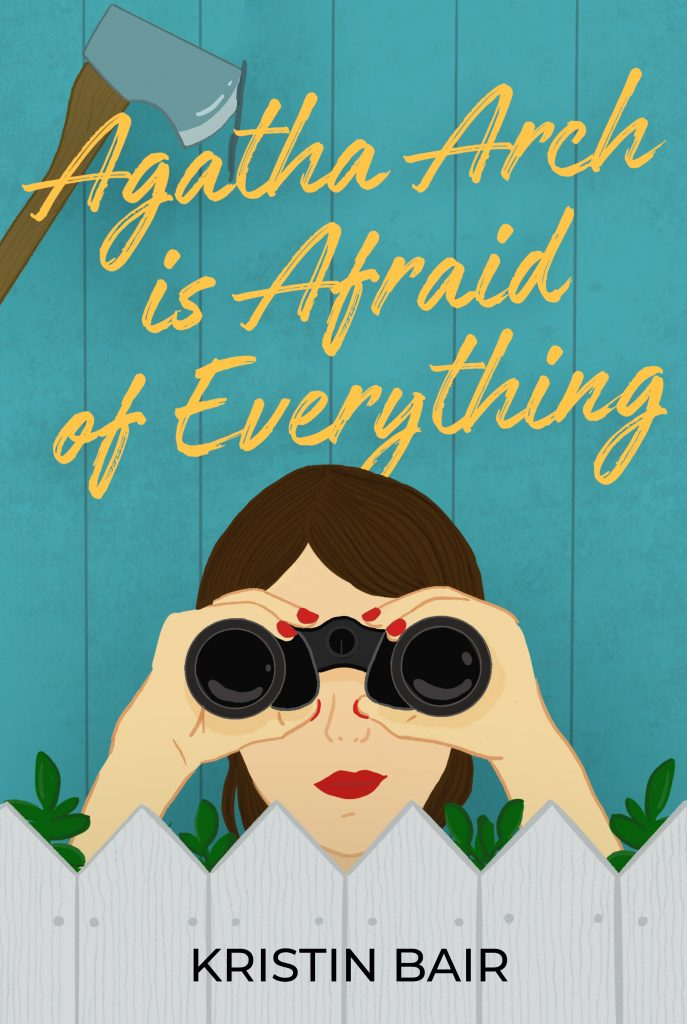 Cover for Agatha Arch is Afraid of Everything